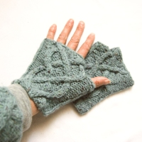Fireside Fingerless Mittens