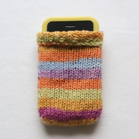 Stripy iPhone Cosy