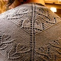Hall: A Grey Shawl by Anna Kuduja