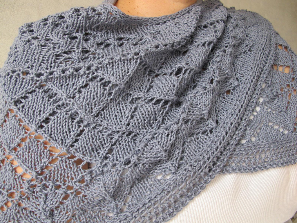 Open Source Knitting Pattern Generator : The Open Source Shawl The Artemis Attic