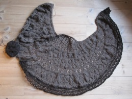 Open Source Shawl in qiviut