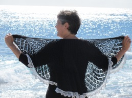 Open Source Shawl in cotton