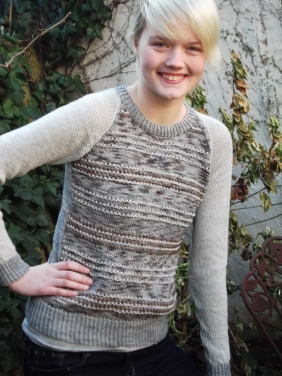 Catkin sweater by Boknits, Artemis Adornments