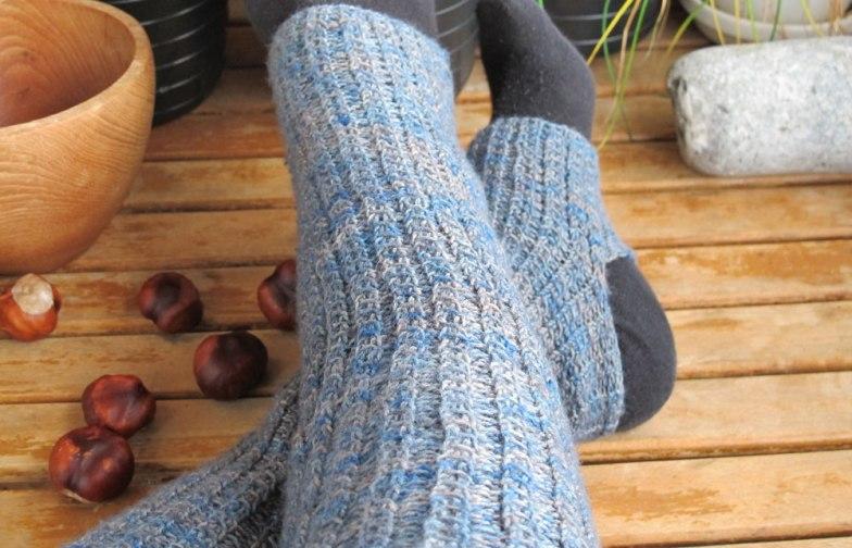 Kiak legwarmers by Lisa Risager, Artemis Adornments