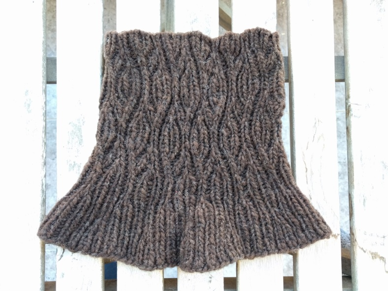 Valdemar Cowl, a knitting pattern by Lisa Risager